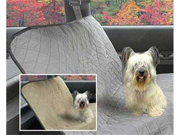 Vo-Toys Pet Voyage Car Seat Cover Camel Color 56 in x 48 in