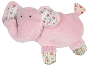 Vo-Toys Paws and Prints Elephant 6in Dog Toy