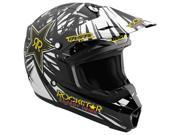 MSR Racing Rockstar Energy Drink Assault Rockstar IV Youth Boys MX/Off-Road/Dirt Bike Motorcycle Helmet - Small