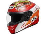 Shoei Bautista X-Twelve Sports Bike Racing Motorcycle Helmet - TC-1 / X-Small