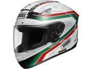 Shoei Laseca X-Twelve Street Racing Motorcycle Helmet - TC-4 / Small