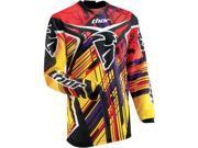 Thor MX Phase Stix Men's Dirt Bike Motorcycle Jersey - Yellow / 2X-Large