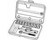 "Danaher Tool Group 12-Piece 1/4"" Socket Set."