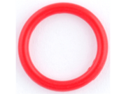 One Silicone O-ring: 10g Red