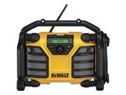 DeWALT DCR015 MP3 AUX USB 12V/20V MAX* Worksite Battery Charger Radio