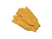 12 Pairs Premium Grade Golden Chore Monkey Face Cotton Gloves - Size Large