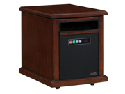 Duraflame Colby 10HM1342 Infared Quartz Electric Portable Heater Air Purifier, Cherry