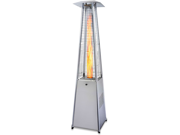 Garden Radiance Stainless Steel Pyramid Outdoor Patio Heater - GRP4000SS