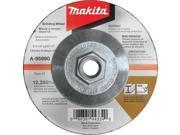 "Makita A-95990-5 5"" X 5/8""-11 X 1/4"" INOX Grinding Wheel, (5-Pack)"