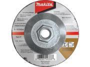 "Makita A-95984-5 4-1/2"" X 5/8""-11 X 1/4"" INOX Grinding Wheel, (5-Pack)"