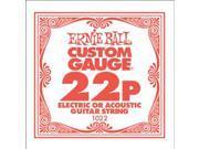 Ernie Ball single .022 plain