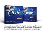 Elixir 12052 Light NanoWeb El Guitar Strings 10-46