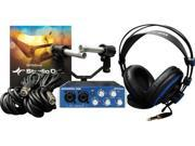 Presonus AudioBox Stereo Recording Bundle