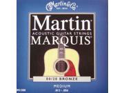 Martin Marquis 80/20 Bronze Acoustic Strings, Medium