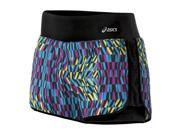 Asics 2014/15 Women's Illusion 2-N-1 Short - WS2282 (Bondi Print - M)