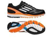 Adidas 2014 Men's adizero Sport II Golf Shoe (Black/Running White/Solar Blue - 9.5)