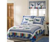 Fly Away- Full / Queen Quilt with 2 Shams