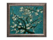 """Van Gogh Paintings: Branches of an Almond Tree in Blossom Hand Painted Framed Canvas Art 20"""" X 24"""""""