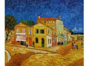 Vincent's House in Arles (The Yellow House) - Hand Painted Canvas Art