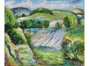 Fields - Hand Painted Canvas Art