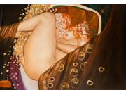 Klimt Paintings: Danae - Hand Painted Canvas Art
