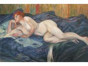 "Reclining Nude - Large 24"" X 36"""
