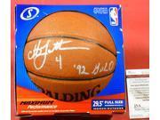 Christian Laettner Autographed Nba Basketball Olympic Dream Team -Item #2954561