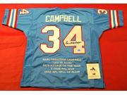 Earl Campbell Autographed Jersey - Stat Aaa -Item #2954524