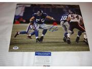 Chris Snee Signed Photo - Super Bowl Champs 11x14 Q60316 - -Item #2957178