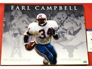 Earl Campbell Signed Picture - Texas Longhorns Collage 16x20 Aaa -Item #2954767