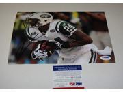 Signed Darrelle Revis Picture - 8x10 Coa - PSA/DNA Certified -Item #2957154