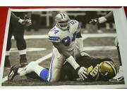 Demarcus Ware Dallas Cowboys Huge 28 X 38 Filtered Canvas Sacking -Item #2954698