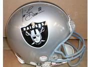 Tim Brown Autographed Helmet - Item #217574