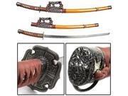 Japanese Samurai Swords Series - 39 Inch Gold Jintachi