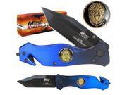 8 Inch Xtreme Law Enforcement Police Folding Pocket Knife
