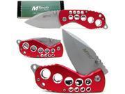 Red Devil Single Blade Pocket Knife Folder - 440 Stainless Blade