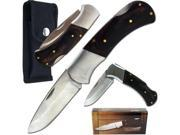 Tracker Knife Stainless Steel w/ Nylon Sheath 6.75 in