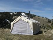 16x20x5ft Magnum Wall Tent and Angle Kit
