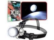 Super Bright 12 LED Headlamp w./ Adjustable Strap