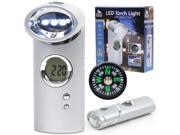 Journey's Edge LED Torch Light w/ Alarm Clock