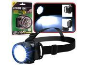 Super BrightT 5 LED Headlamp w / Adjustable Strap