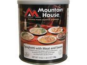 Mountain House Spaghetti with Meat Sauce - 10 One Cup Servings