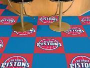 Detroit Pistons Carpet Tiles