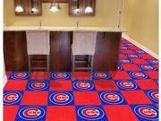 Chicago Cubs Carpet Tiles