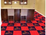 St Louis Cardinals Carpet Tiles