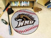 Western Michigan Baseball Rug