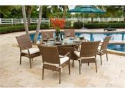 Grenada 7 Piece Table and Chairs Set