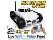 LIVE VIDEO WiFi Control Electric RTR iSpy Tank