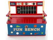 All Star Sports Toy Box Bench - by Levels Of Discovery