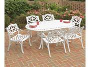 "Biscayne 7PC Dining Set 72"" Oval Table - by Home Styles"